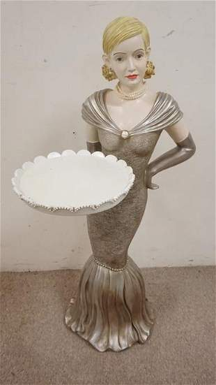 FIGURAL SERVING TRAY