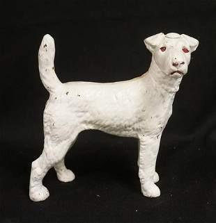 CAST IRON DOG DOORSTOP