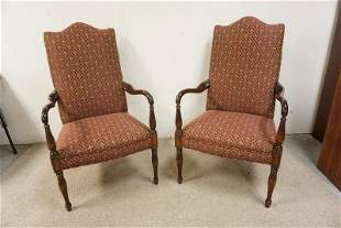 PAIR OF BENTWOOD ARM CHAIRS