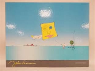 JOHN LENNON ARTWORK PRINT
