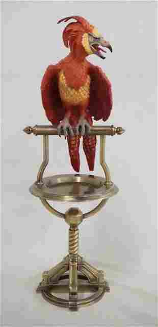 HARRY POTTER PERCHED FAWKES REPLICA