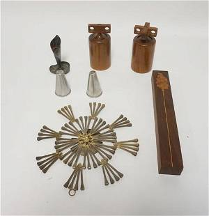 LOT OF MIDCENTURY MODERN SMALL ITEMS