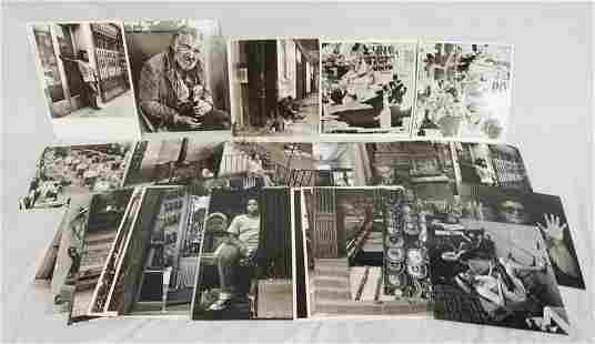 LARGE LOT OF VICTOR G. MACAROL PHOTOGRAPHY PRINTS
