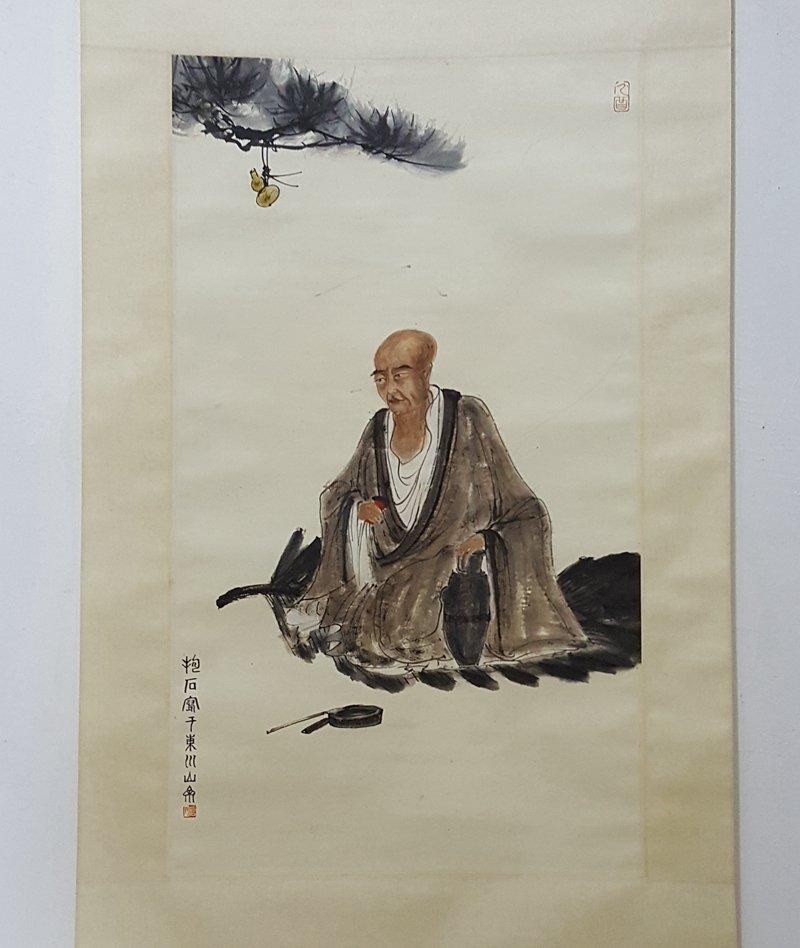 Chinese Scroll Painting,Fu Baoshi(1904-1965)