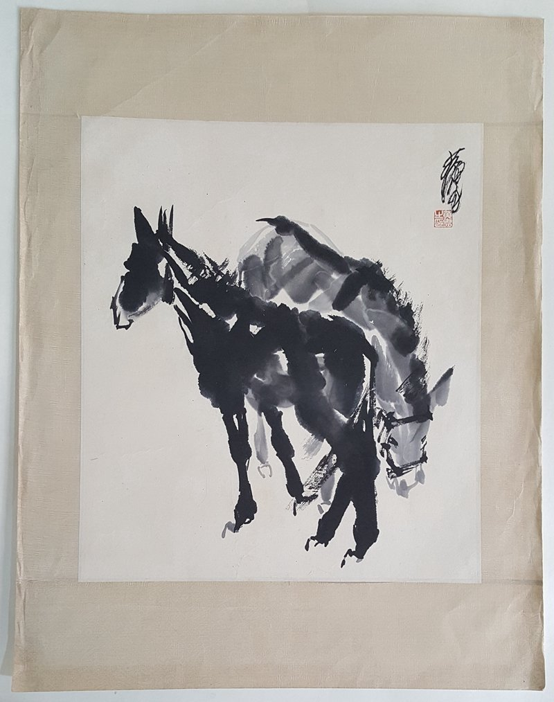 Chinese Painting,Huang Zhou(1925-1997)
