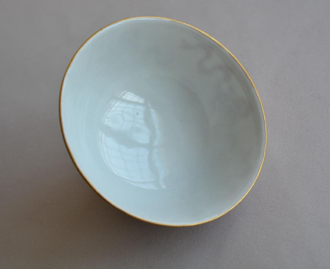 Chines Famille Rose (Fan Hong) Porcelain Bowl - 4