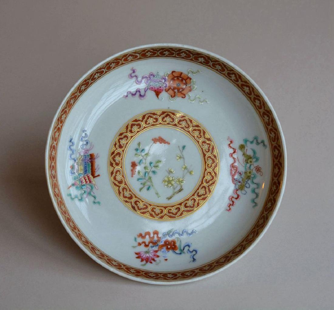 Chinese Porcelain Famille Rose Plates