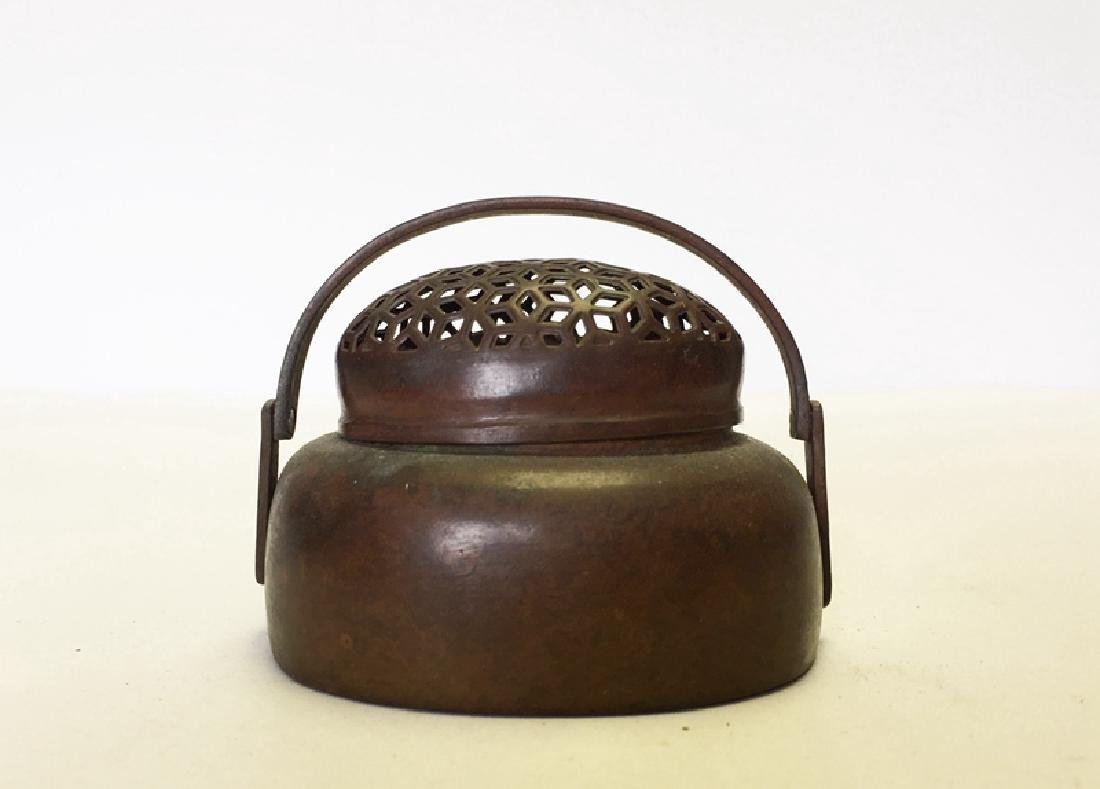 Chinese Copper Hand Warmer