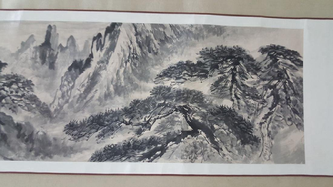 Chinese Scroll Painting,Xie Zhiliu(1910-1997) - 3