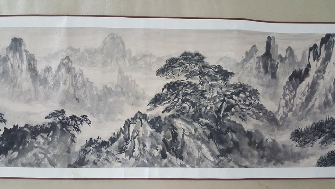 Chinese Scroll Painting,Xie Zhiliu(1910-1997) - 4