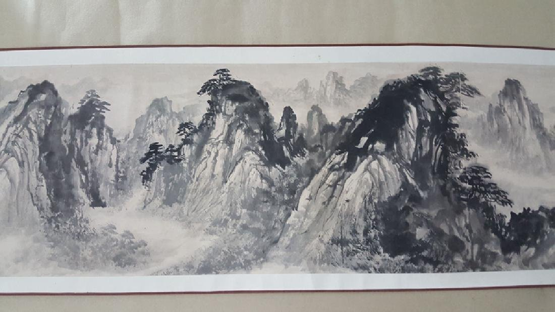 Chinese Scroll Painting,Xie Zhiliu(1910-1997) - 5