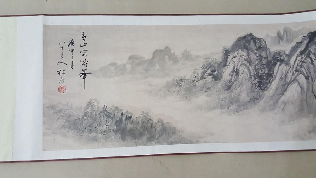 Chinese Scroll Painting,Xie Zhiliu(1910-1997) - 6
