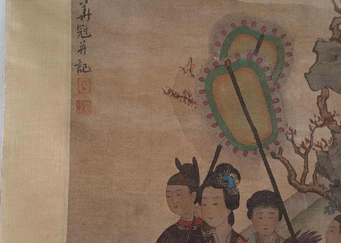 Chinese Scroll Painting,Hua Guan(Qing Dynasty) - 5