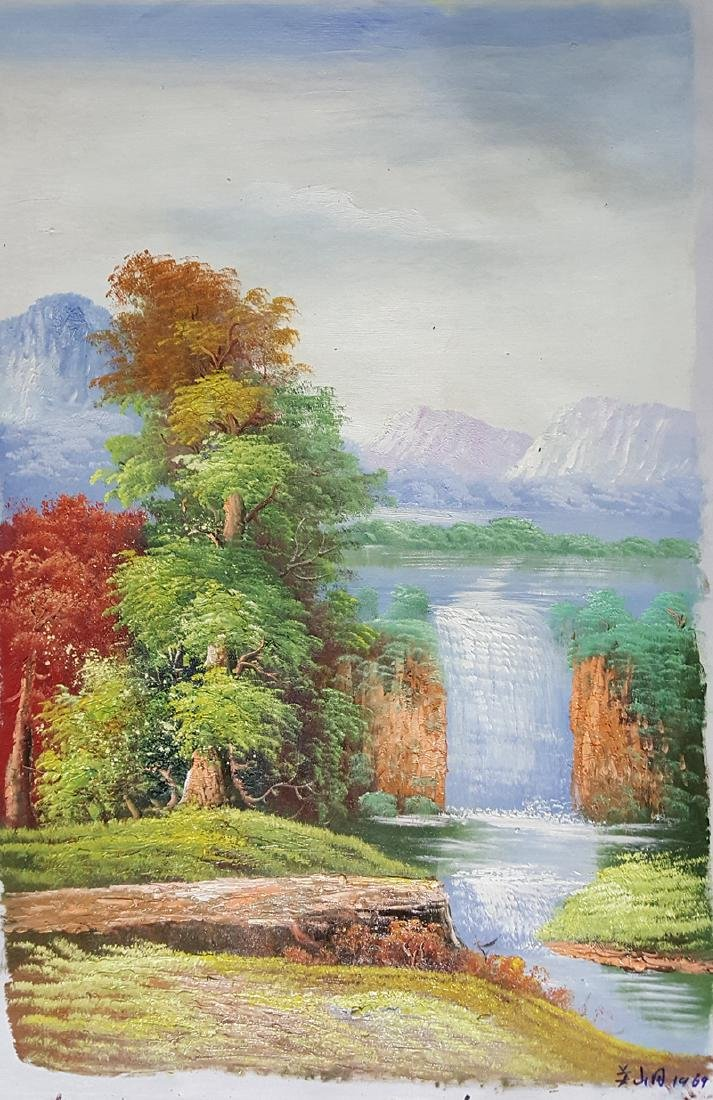An Oil Painting,Guan Shanyue(1912-2000)
