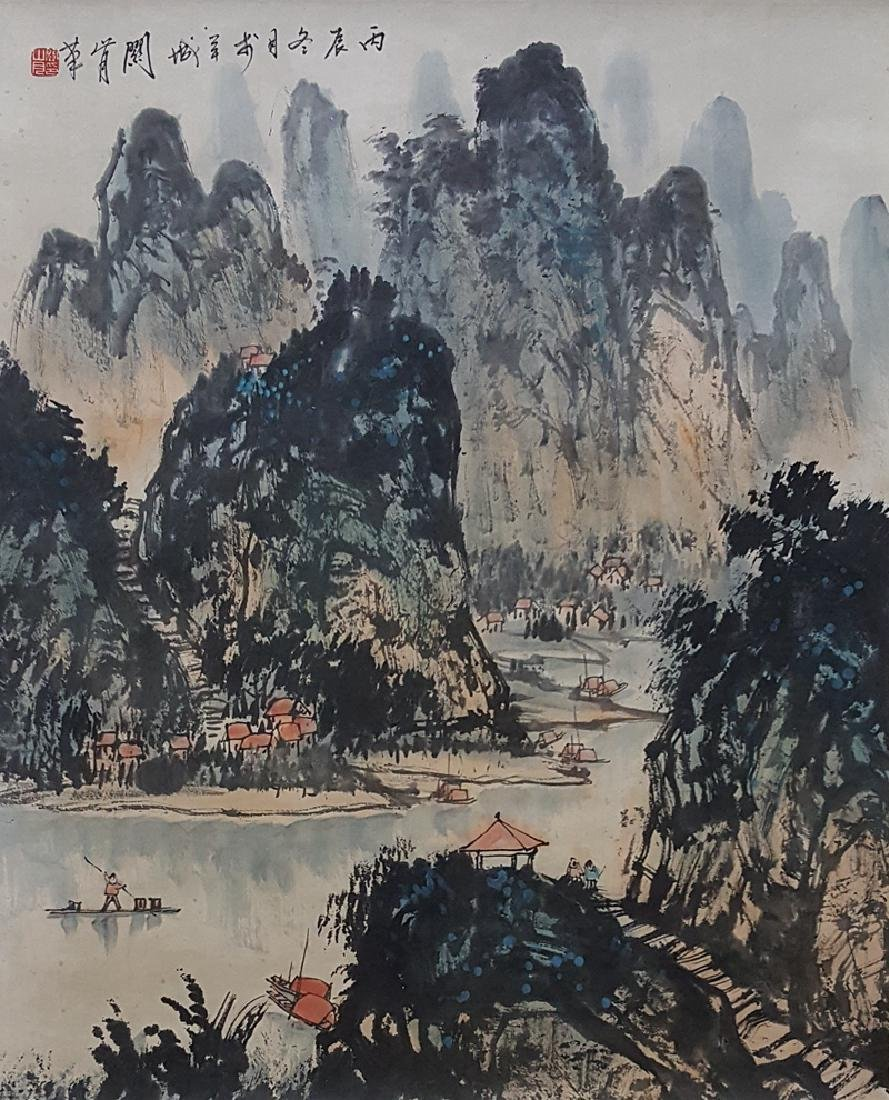 Chinese Scroll Painting,Guan Shanyue(1912-2000) - 2