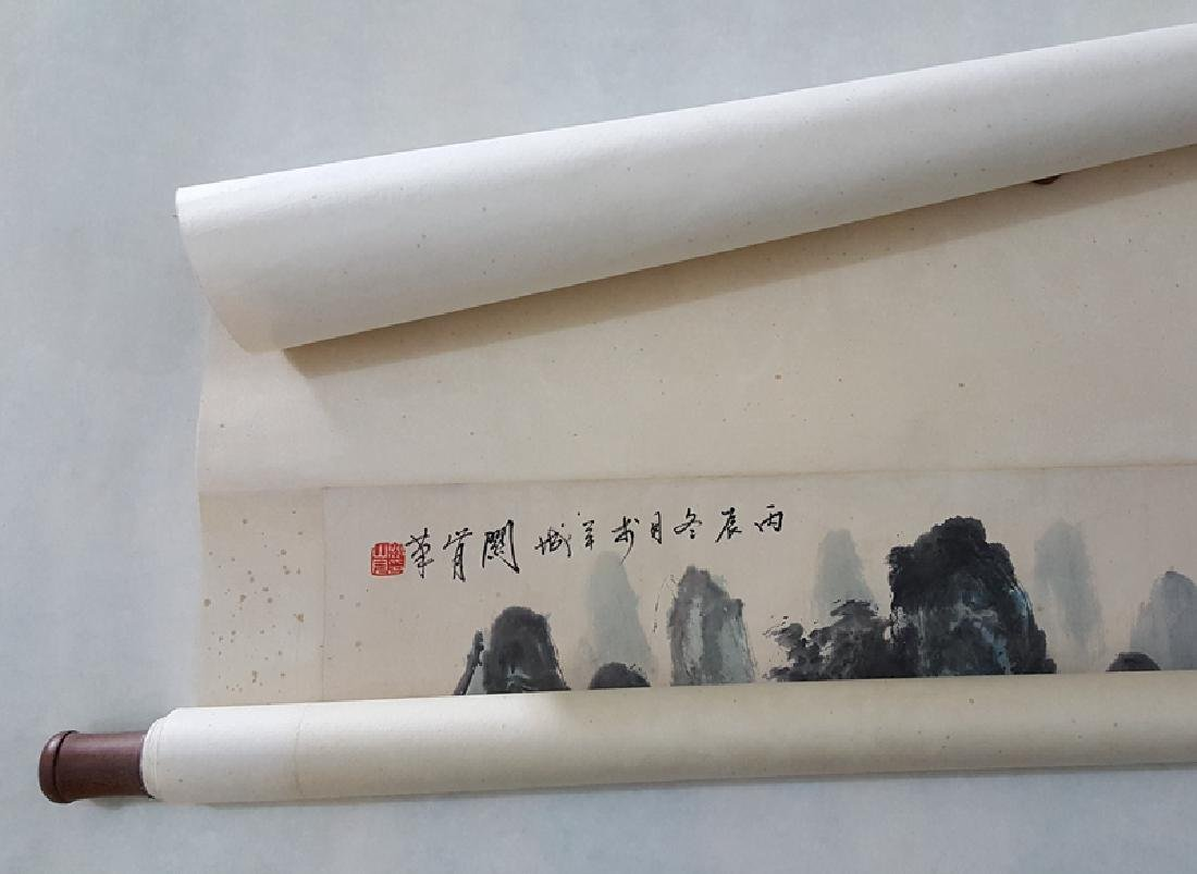 Chinese Scroll Painting,Guan Shanyue(1912-2000) - 5