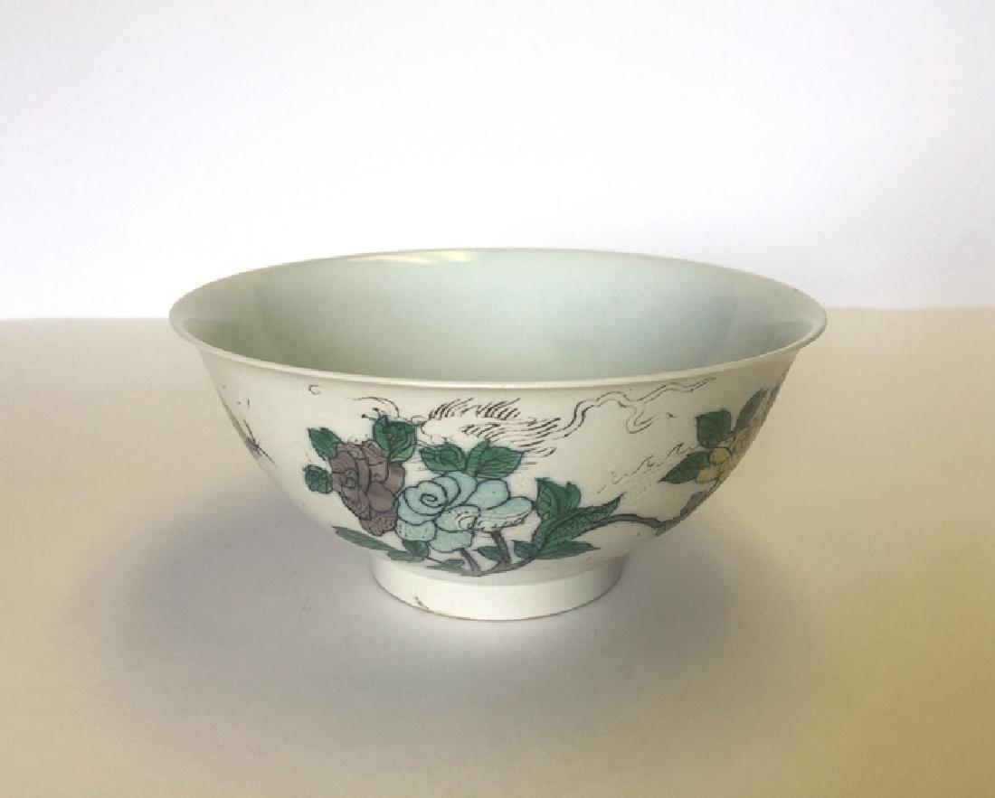 Chinese 3 Colors Porcelain Bowl(SU SAN CAI)