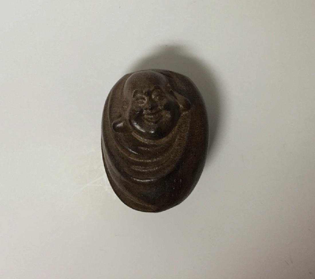 Chinese Carved TAN XIANG Wooden Buddha
