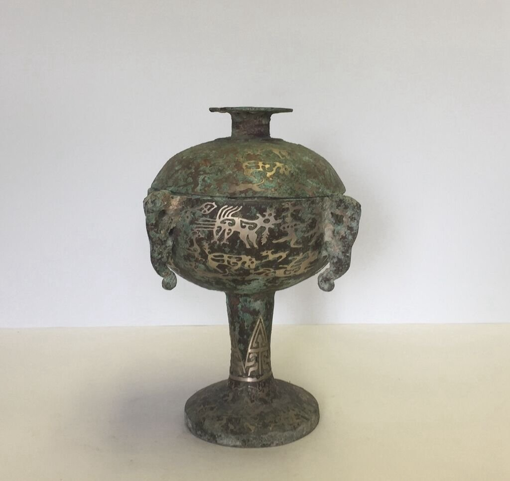 Chinese Bronze Container(DOU)