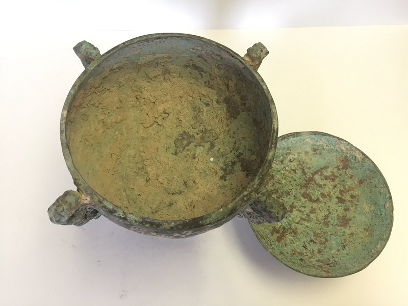 Chinese Bronze Container(DOU) - 5