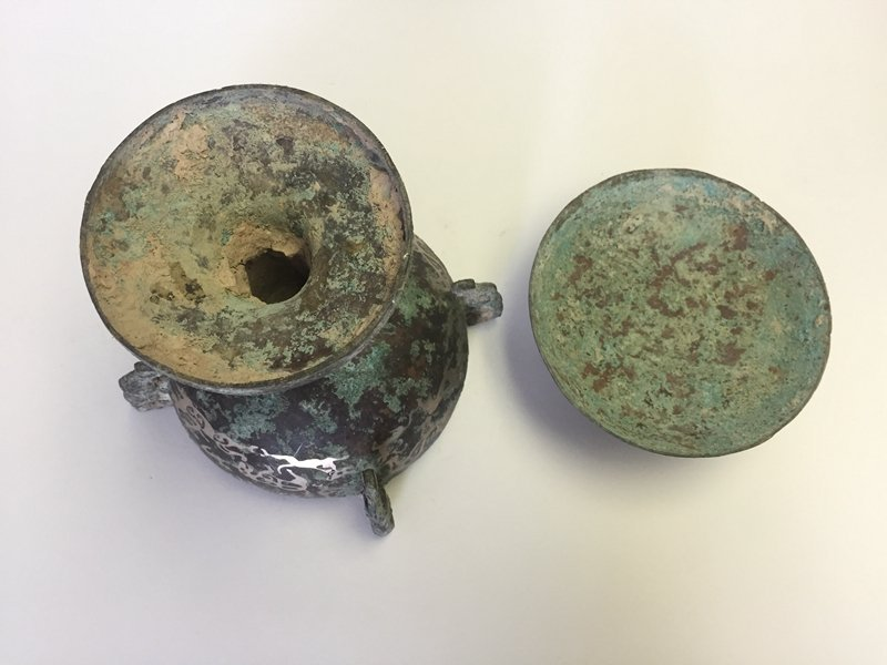 Chinese Bronze Container(DOU) - 6