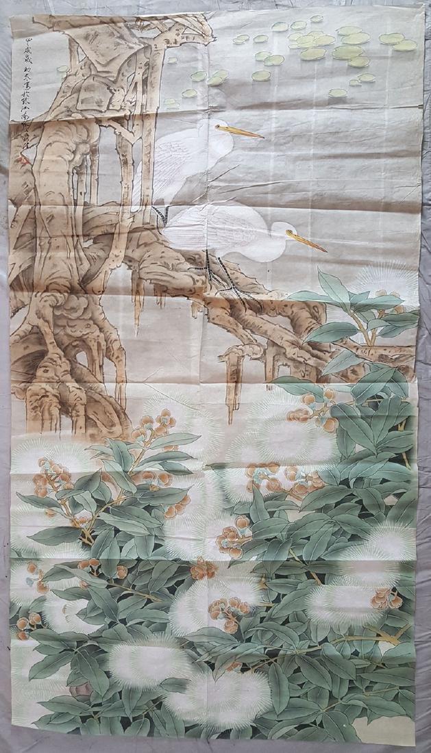 Chinese Scroll Painting,Zhou Yansheng