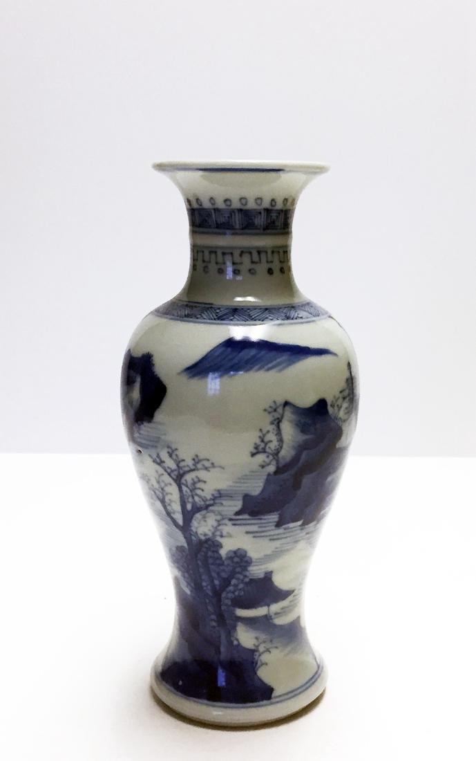 Chinese Porcelain B/W Vase
