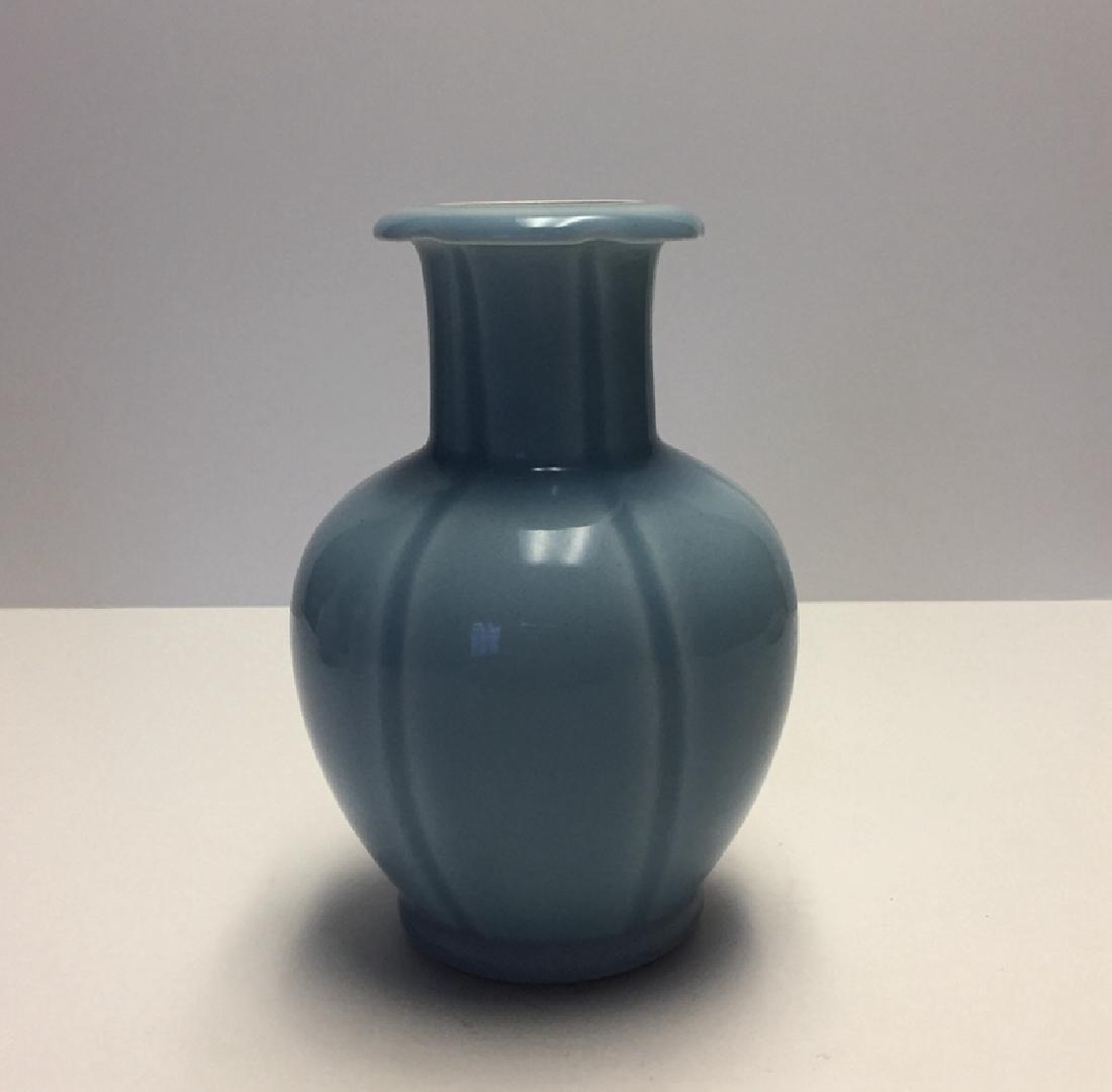 Chinese Porcelain Blue Glaze Vase