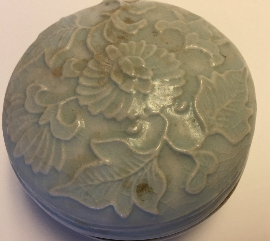 Chinese  Yingqing Porcelain Seal Ink Box - 5