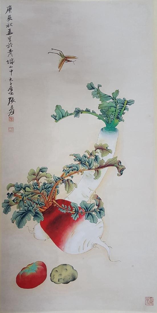 Chinese Scroll Painting,Zhang Daqian(1899-1983) - 3