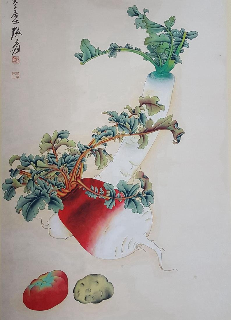 Chinese Scroll Painting,Zhang Daqian(1899-1983) - 4