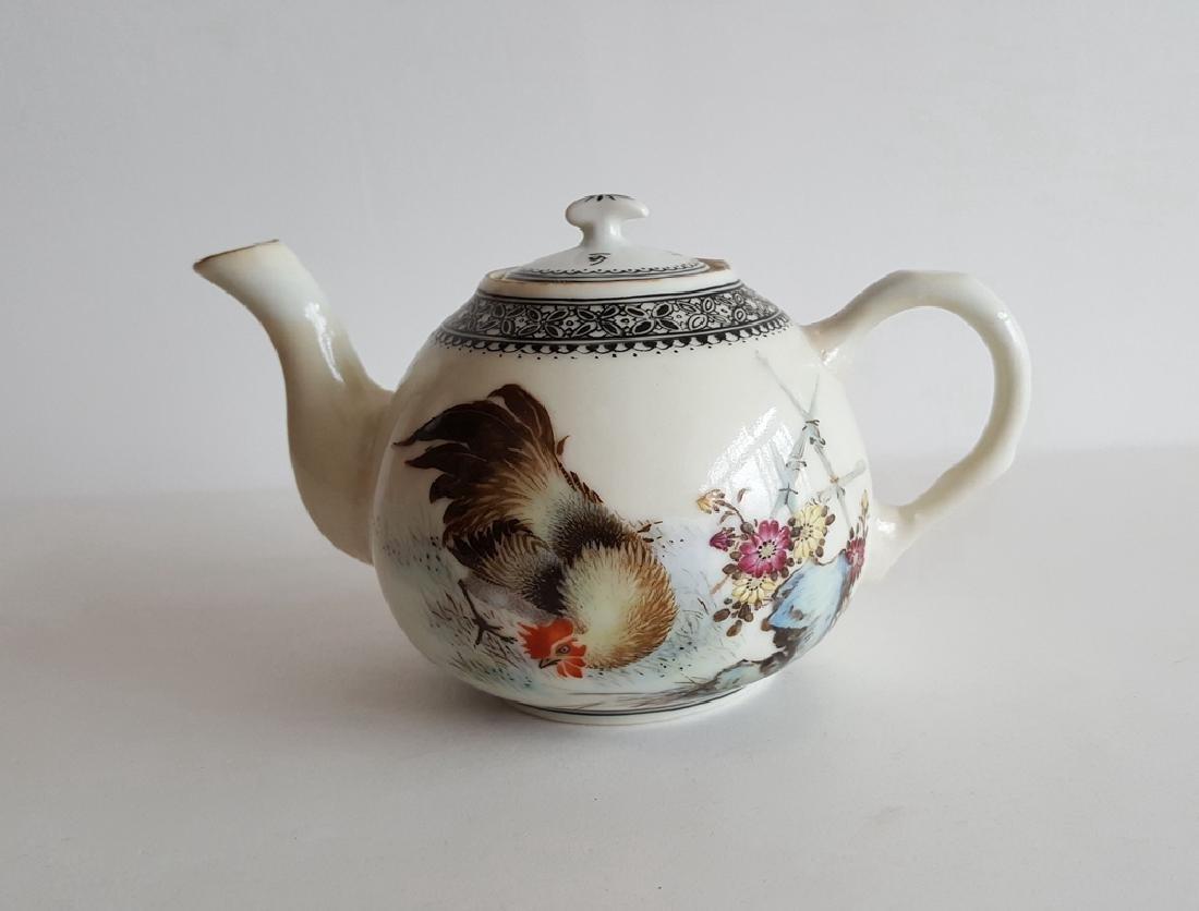 Chinese Famille Rose Porcelain Teapot