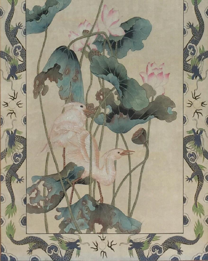 Chinese Scroll Painting,Pu Hua(1832-1911) - 4