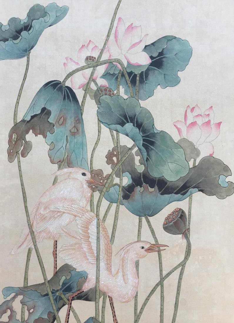 Chinese Scroll Painting,Pu Hua(1832-1911) - 6