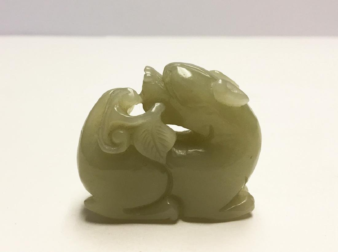 Chinese Carved Jade  T iger - 3