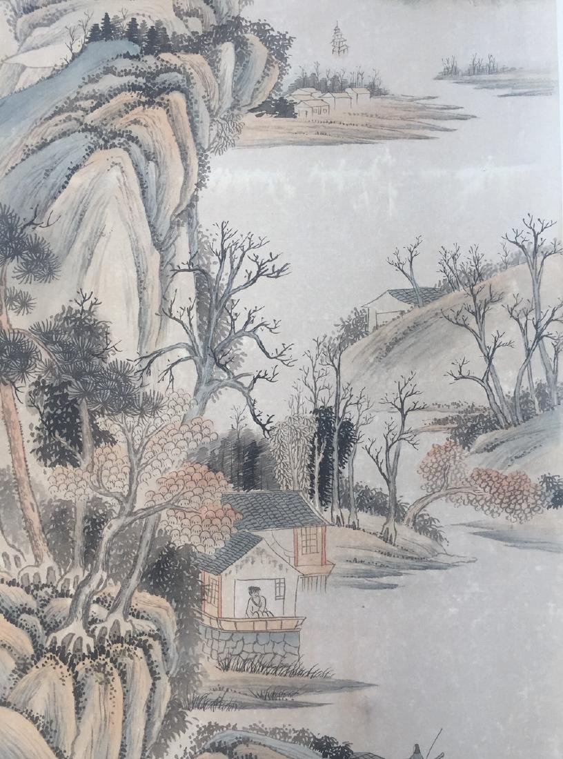 Chinese Scroll Painting,Wang Jian(1598-1677) - 5