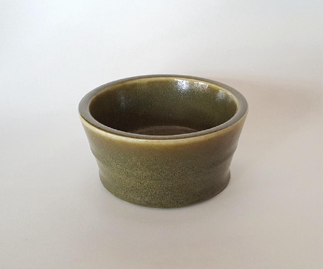 Chinese Tea Glaze Incense Burner - 2