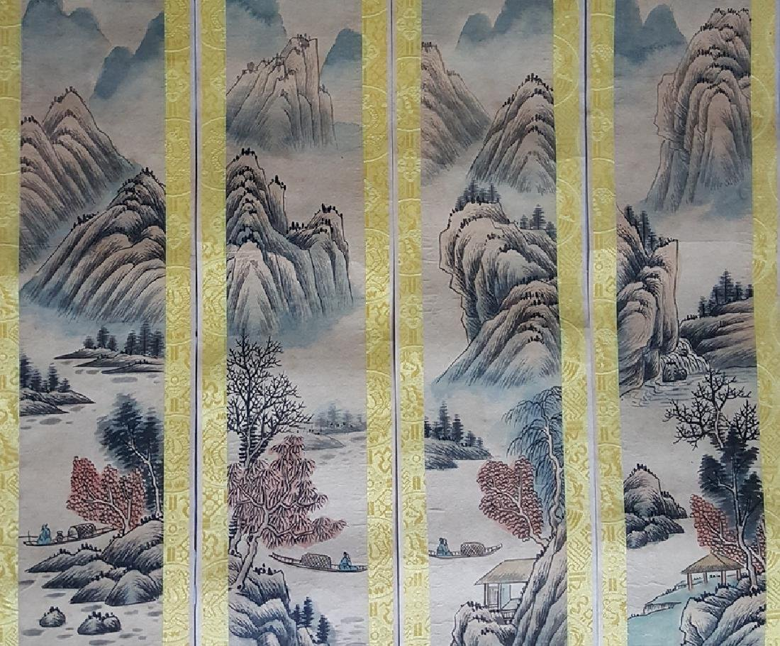 A set of Chinese Painting Scrolls ,Zhang - 3