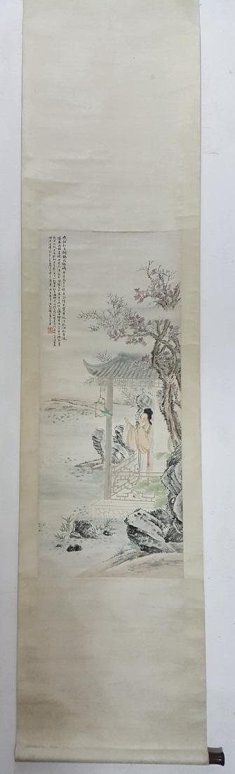 Chinese Scroll Painting,Feng Chaoran(1882-1954) - 4