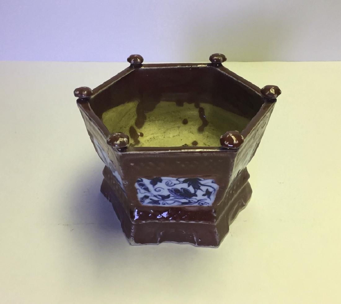 Chinese Porcelain Incense Burner - 2