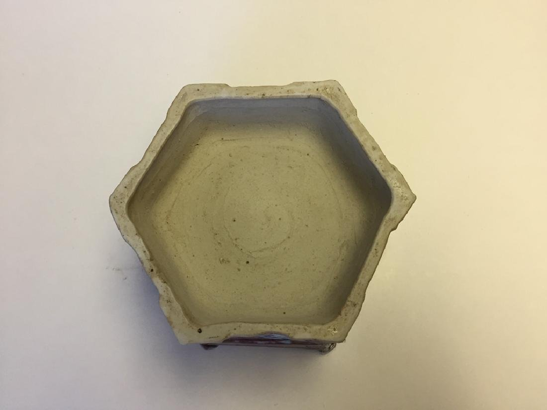 Chinese Porcelain Incense Burner - 6