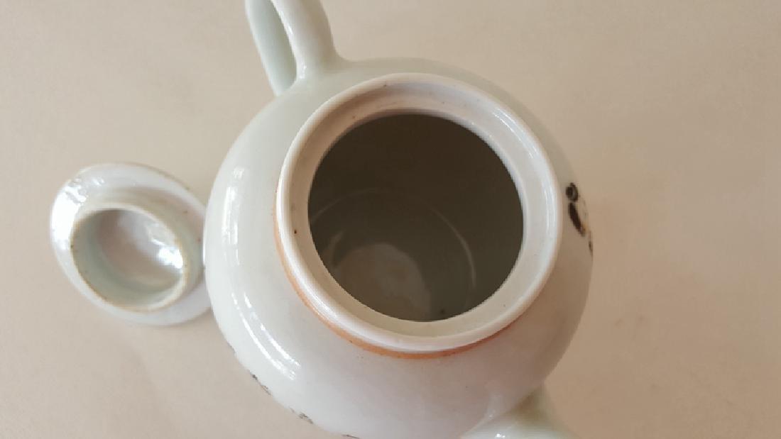 Chinese Porcelain Qiangjiang Color Teapot - 5