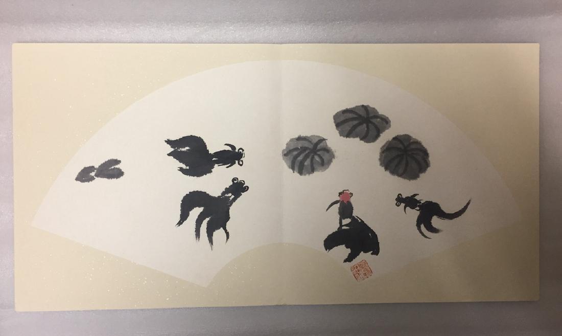 Chinese Painting Album,Wu Guanzhong (1919-2010) - 4