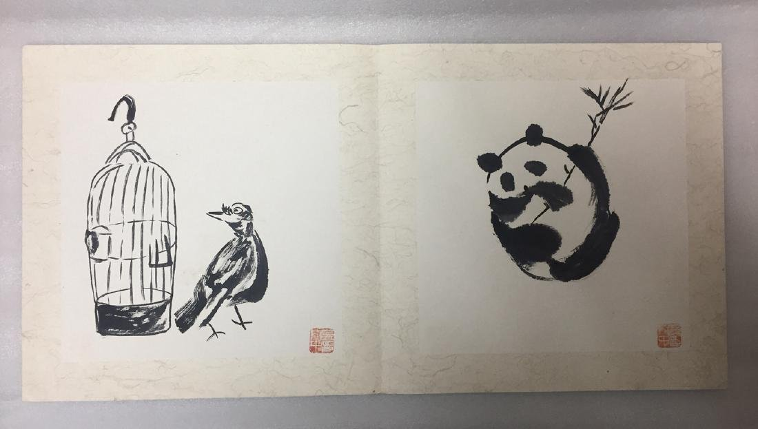 Chinese Painting Album,Wu Guanzhong (1919-2010) - 5