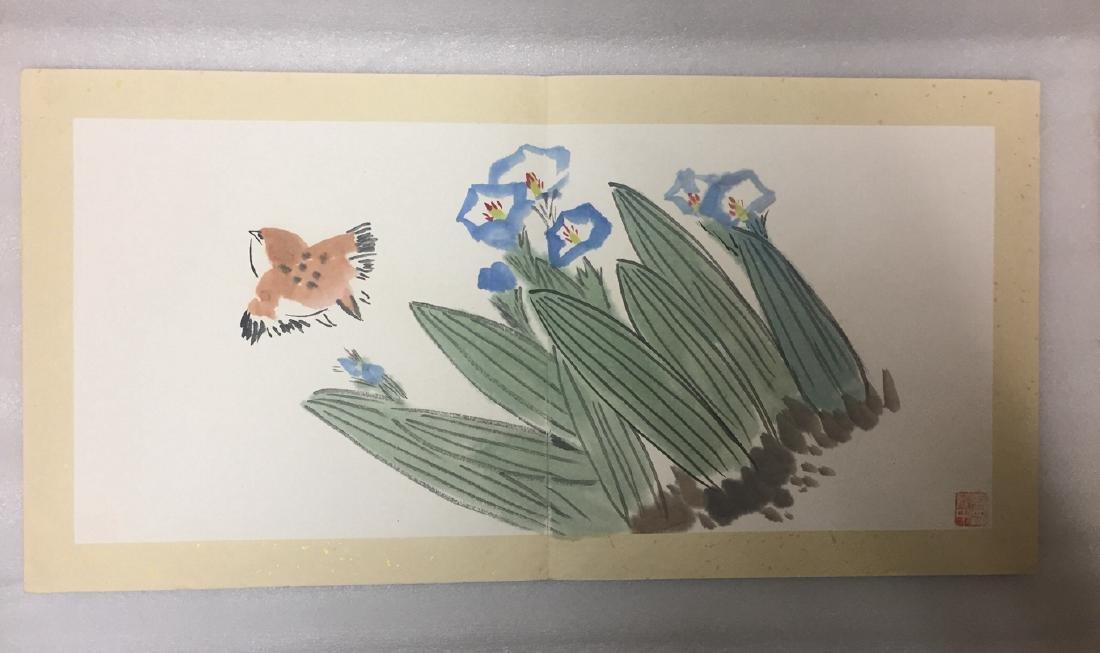 Chinese Painting Album,Wu Guanzhong (1919-2010) - 6