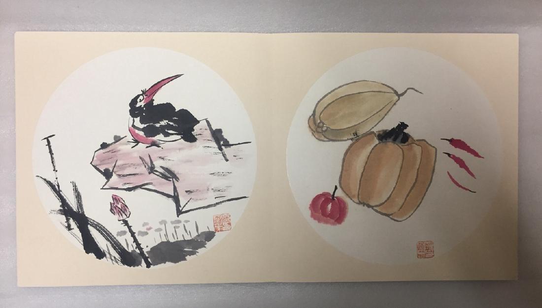 Chinese Painting Album,Wu Guanzhong (1919-2010) - 7