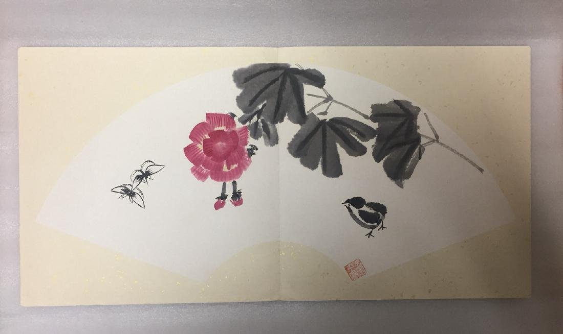 Chinese Painting Album,Wu Guanzhong (1919-2010) - 8