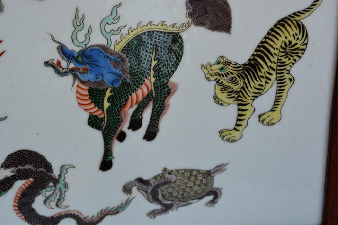 Chinese Porcelain Tile Plaque(5 colors) - 3