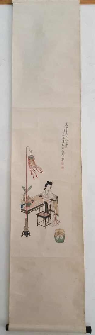 Chinese Scroll Painting,Huang Shanshou(1855-1919) - 2