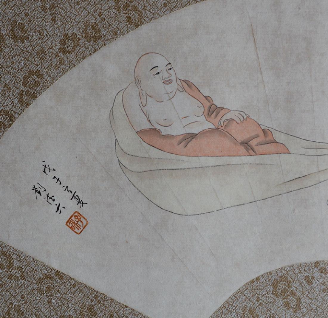 Chinese Fan Painting,Liu Deliu(1806-1875) - 3